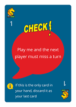 WordHoo Educational Game Check Zap Card