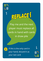 WordHoo Educational Game Replace Zap Card