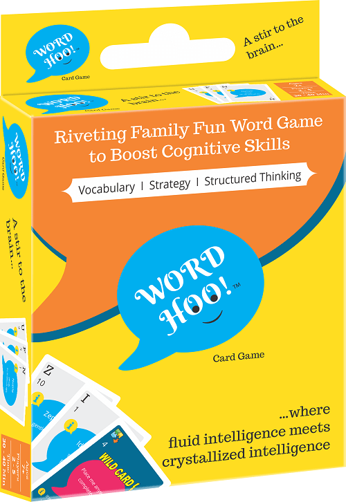 WordHoo Educational Card Game Box Image