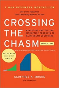 Crossing The Chasm Book by Geoffrey A Moore Cover