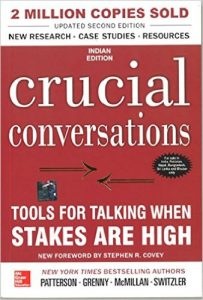 Crucial Conversations Tools Book Summary