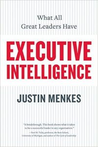 Executive Intelligence Book Cover