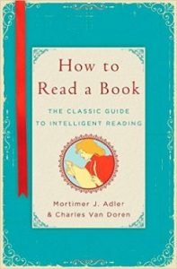 Book Cover of How to Read a Book